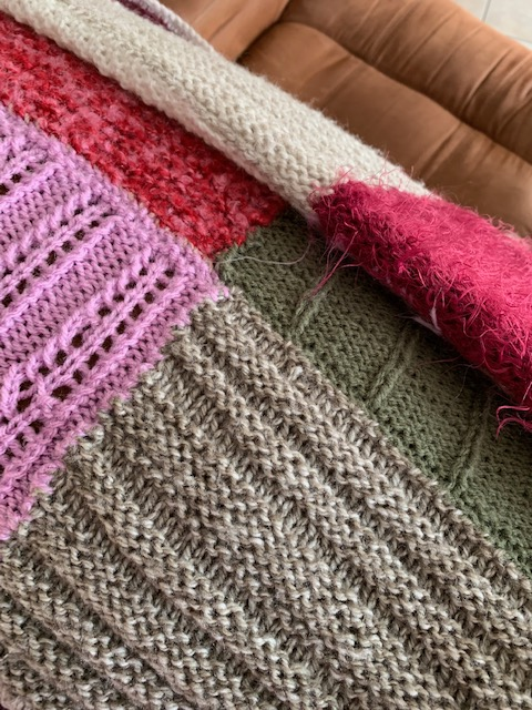 how to knit a blanket for beginners