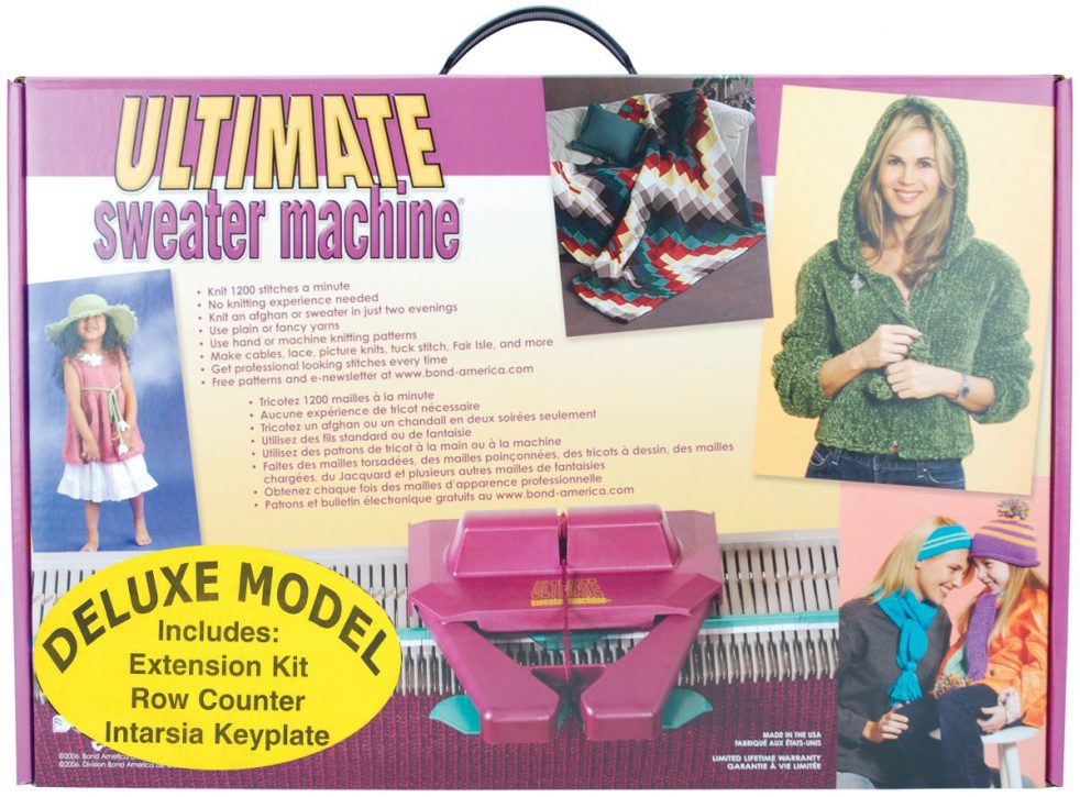 ultimate sweater machine