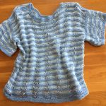 how to knit a summer top