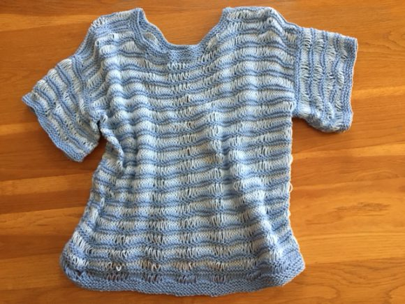 free knitting patterns summer tops