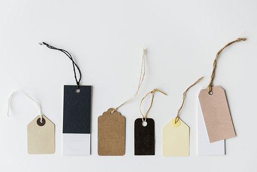 scrapbook tags