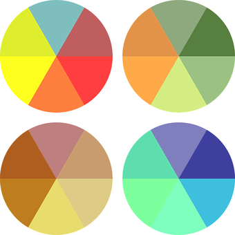 how to use colour in art