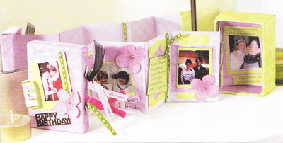 How To Make A Memory Box Concertina Style