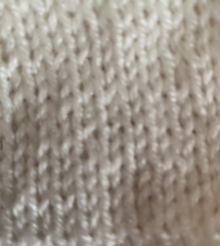 reverse stocking stitch