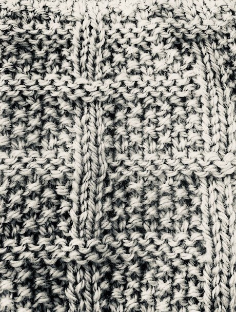 How To Make A Moss Stitch Blanket With Checks