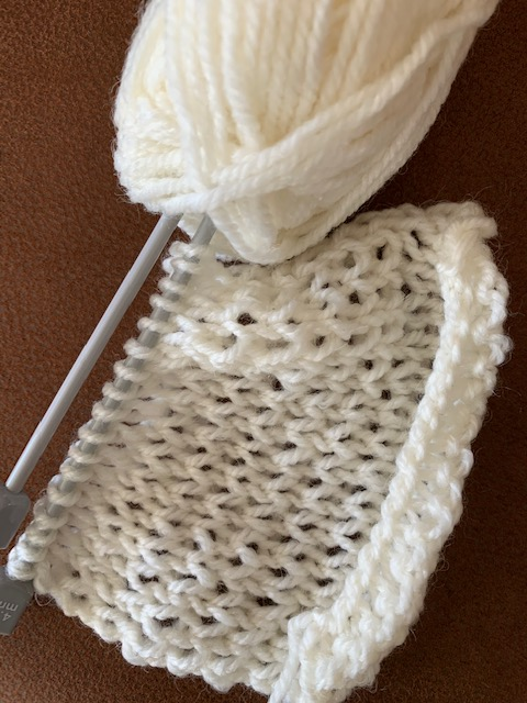 bed jacket stitch