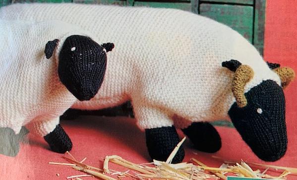 free sheep knitting pattern