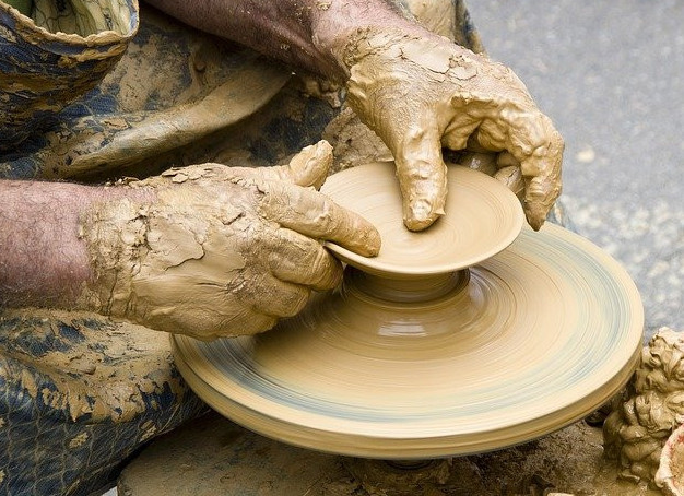 get started making pottery