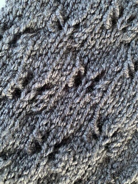 Butterfly knitting stitch