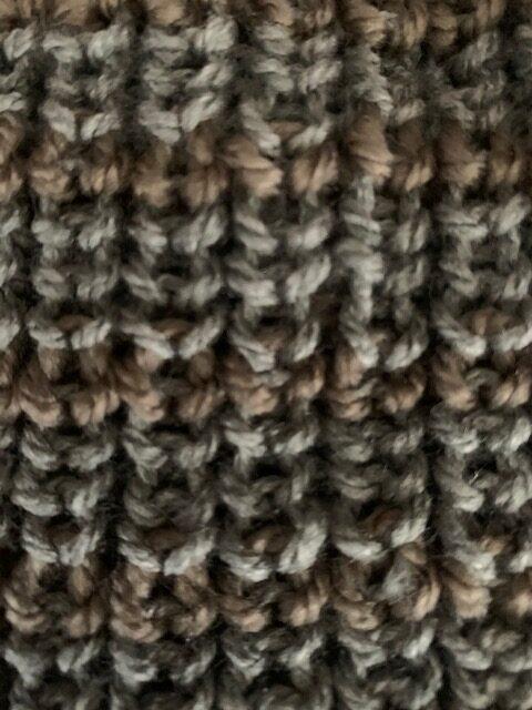 knitting stitches Fishermans rib