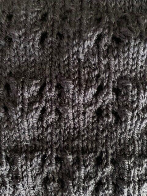 openwork lace stitch