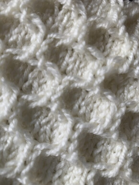 wasp nest stitch basic knitting stitch